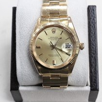 Rolex Date 1501 34mm 18k Yellow Gold 1965 Collectible