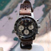 Heuer Vintage Autavia 2446 panda dial valjoux 72
