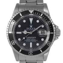 Rolex Vintage Steel Submariner, Ref: 1680 (Service Papers)