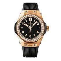 Hublot Big Bang 39mm One Click King Gold Diamonds Ladies Watch...