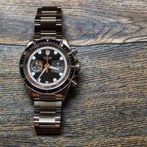 Tudor Heritage Chrono Montecarlo Chronograph black dial