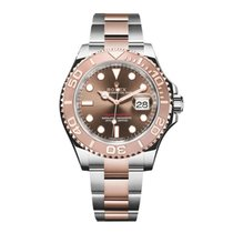 Rolex YACHT-MASTER STEEL & ROSE GOLD CHOCOLATE