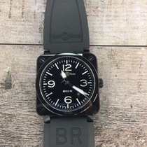 Bell & Ross BR 03-92 Ceramic new 2014 Automatic Watch with original box and original papers BR0392-BL-CE