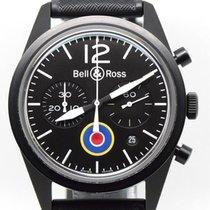 Bell & Ross folosit Atomat 42mm Negru Sticlă de safir