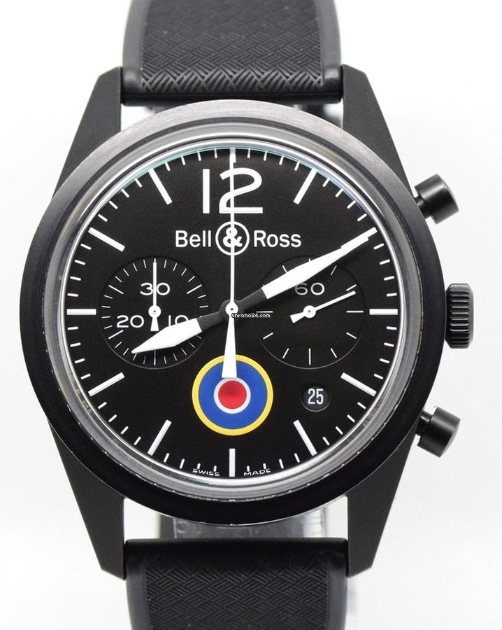 35a350a93b3b Bell & Ross Vintage RAF Insignia BR 126-94-SC, B&P for $2,938 for sale from  a Trusted Seller on Chrono24