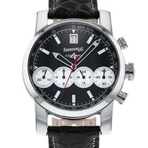 Eberhard & Co. 40mm Automatic pre-owned Chrono 4 Black