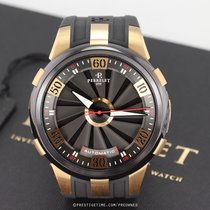 Perrelet Turbine (submodel) pre-owned 50mm Black Date Year Rubber