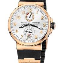 Ulysse Nardin Marine Chronometer Manufacture Rose gold 43mm White United States of America, Florida, North Miami Beach