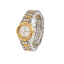 Chopard Gstaad Goud/Staal 24.5mm Wit