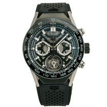 TAG Heuer Carrera Heuer-02T Titanium 46mm Grey No numerals United States of America, New York, New York