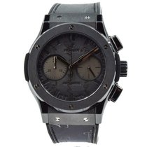 Hublot Classic Fusion Chronograph pre-owned 45mm Black Leather