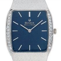 Bulova Diamond 3-722390 Velmi dobré Bílé zlato 33mm Quartz