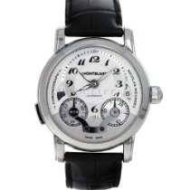 Montblanc Nicolas Rieussec Steel 43mm Silver Arabic numerals United States of America, Maryland, Baltimore, MD