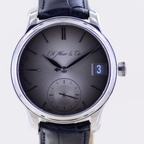 H.Moser & Cie. Palladium 41mm Handopwind 341.101-009 tweedehands