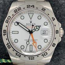 Rolex Explorer II 216570 2013 pre-owned