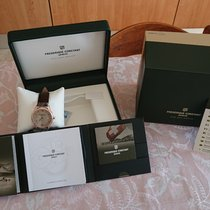 Frederique Constant Classics Index Acciaio 40mm Champagne Romano Italia, CREMELLA
