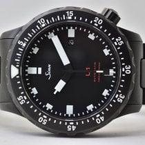 Sinn Steel Automatic Black No numerals 44mm pre-owned U1