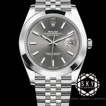 Rolex Datejust 126300 Nenošené Ocel 41mm Automatika