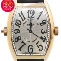 Franck Muller Secret Hours Oro rosado 38mm Plata España, Madrid