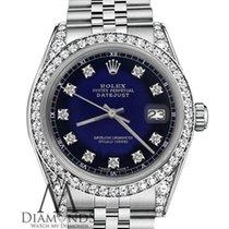 Rolex Lady-Datejust Steel 31mm Blue United States of America, New York, New York