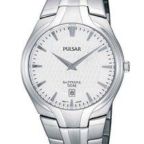 Pulsar 37mm Quarz neu Silber