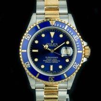 Rolex Submariner Date 16613 Two-Tone W Box