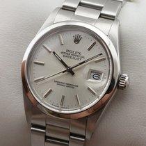 Rolex Datejust Edelstahl Glatte Lünette Automatic Herrenuhr