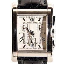 Bedat & Co Chronograaf 43mm Quartz tweedehands Nº7 Wit