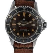 Rolex Sea-Dweller pre-owned 40mm Black Date Steel