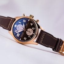 IWC Pilot Chronograph 18kt Antoine de Saint Exupery  Ltd Edition