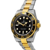 Rolex GMT-Master II 40 mm Gold & Steel Ref# 116713, Box and...