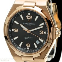 Vacheron Constantin Red gold Automatic Grey Arabic numerals 42mm pre-owned Overseas