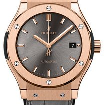 Hublot Rose gold Automatic Grey No numerals 45mm new Classic Fusion Racing Grey