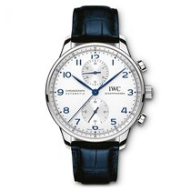 IWC Portuguese Chronograph new Steel