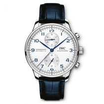 IWC Portuguese Chronograph new 2019 Automatic Chronograph Watch with original box and original papers IW371446