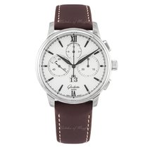 Glashütte Original 42mm Automatic new Senator Chronograph Panorama Date White