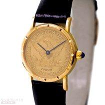 Corum Coin Watch Gelbgold 25mm Keine Ziffern Deutschland, München