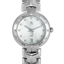 TAG Heuer Link Lady Steel 34.5mm Silver Roman numerals United States of America, Pennsylvania, Southampton