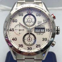 TAG Heuer Carrera Calibre 16 Steel 43mm White Arabic numerals United States of America, New York, New York