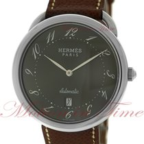 Hermès Arceau Steel 40mm Grey Arabic numerals United States of America, New York, New York