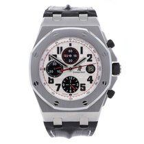 愛彼 Royal Oak Offshore Chronograph 鋼 42mm 銀色 香港, Central