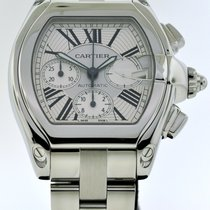 Cartier Roadster pre-owned 49mm Steel
