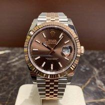 Rolex Datejust II Gold/Stahl 41mm Braun Keine Ziffern Deutschland, Köln