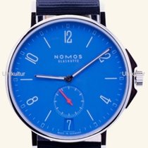 NOMOS Ahoi Datum Steel 40,3mm Blue Arabic numerals