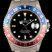 Rolex GMT-Master pre-owned 40mm Black Date GMT Steel