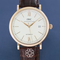 IWC Portofino Automatic Ruzicasto zlato