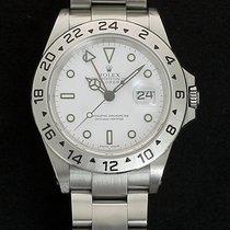 Rolex Explorer II Acier 40mm Blanc Sans chiffres France, Lille