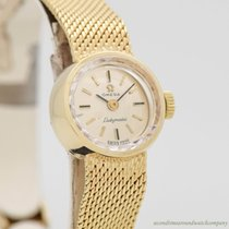Omega De Ville Ladymatic pre-owned Silver Yellow gold
