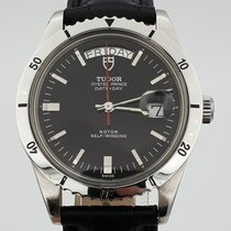 Tudor Prince Date pre-owned 39mm Black Leather