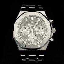Audemars Piguet Royal Oak Chronograph neu 2019 Automatik Chronograph Uhr mit Original-Box und Original-Papieren 26315ST.OO.1256ST.02